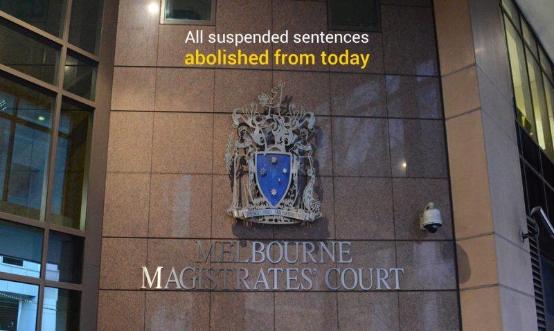 All suspended sentences abolished