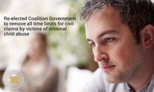 Coalition to removal all time limits on criminal child abuse claims