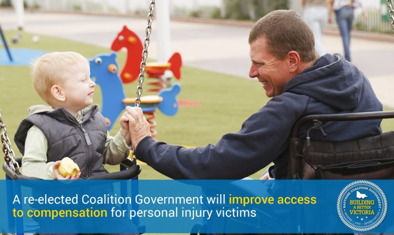 Coalition to improve access to personal injuries compensation