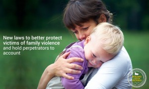 New laws to better protect family violence victims