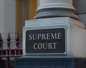 Supreme Court of Victoria nameplate