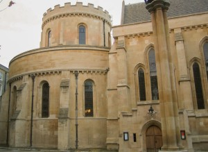 New Temple Church Exterior
