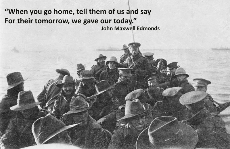 ANZAC Cove 25 April 1915