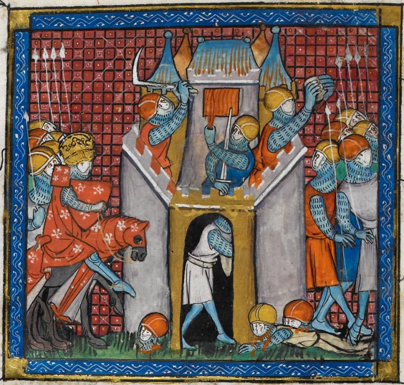 Medieval seige