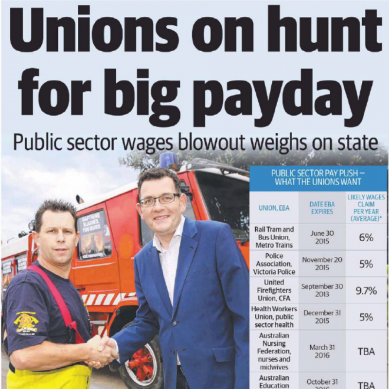 Unions on hunt for big payday