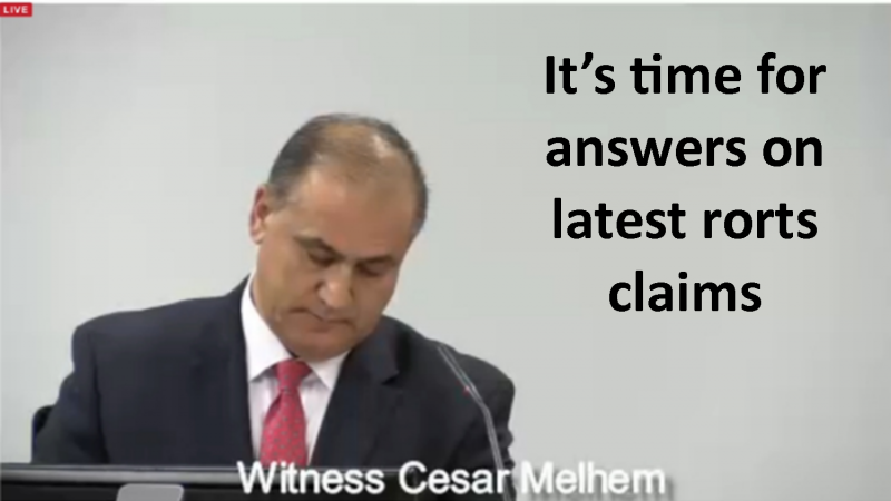 Cesar Melhem has a lot to answer