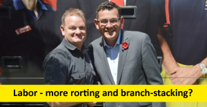 Labor - more rorting and branch-stacking