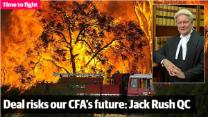 Deal risks CFA's future - Jack Rush QC