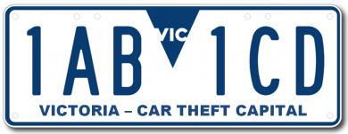 Victoria Car Theft Capital