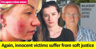 Innocent victims suffer again from soft justice