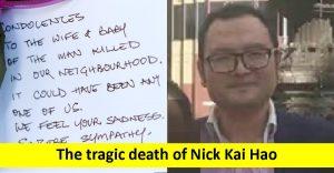 The tragic death of Nick Kai Hao