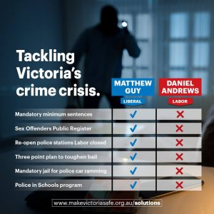 Make Victoria Safe - Crime Solutions