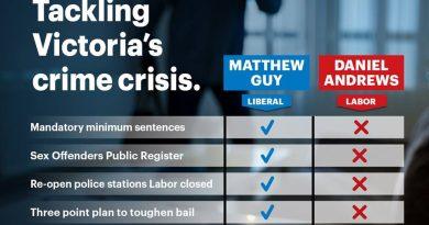 Make Victoria Safe - Crime Solutions